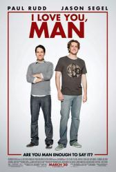 I Love You, Man movie poster [Paul Rudd, Jason Segel] 27x40