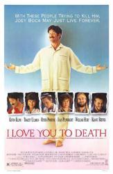 I Love You To Death movie poster [Kevin Kline] original 27x41