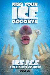 Ice Age: Collision Course movie poster (original 27x40 Sid advance)