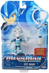 Mega Man Fully-Charged: Ice Man action figure (Jakks Pacific)