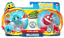 Pac-Man Ghostly Adventures: Ice Pac & Blinky Pac Panic Spinner figures