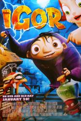 Igor movie poster (2008) DVD release version