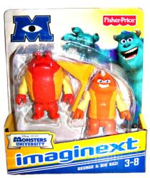 Imaginext Monsters University: George & Big Red figures (Fisher Price)