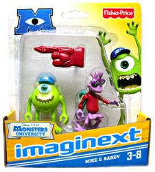 Imaginext Monsters University: Mike & Randy figures (Fisher Price)
