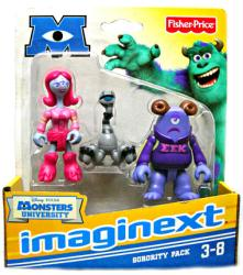 Imaginext Monsters University: Sorority Pack figures (Fisher Price)