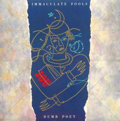 Immaculate Fools poster: Dumb Poet vintage LP/Album flat (1987)