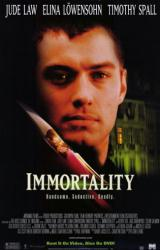 Immortality movie poster [Jude Law] 26x40 video version