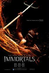 Immortals movie poster (2011) original 27x40 advance