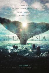 In the Heart of the Sea movie poster (27x40 advance) Ron Howard film