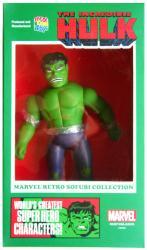 Marvel Retro Sofubi Collection: The Incredible Hulk soft vinyl figure
