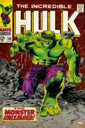 The Incredible Hulk poster: Comic Book 105 cover (24 X 36) Marvel