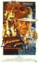 Indiana Jones and the Temple of Doom movie poster (1984) 27 X 40