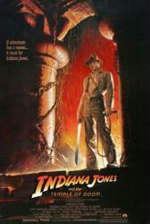 Indiana Jones and the Temple of Doom movie poster [Ford] 27 X 40