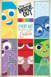 Inside Out movie poster: Grid (22x34) Disney/Pixar