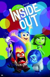 Inside Out movie poster (24x36) Disney/Pixar
