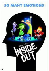 Inside Out movie poster: So Many Emotions (24x36) Disney/Pixar