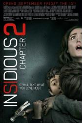 Insidious: Chapter 2 movie poster [Rose Byrne] original 27x40