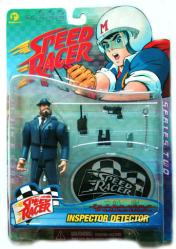 Speed Racer: Inspector Detector action figure (Resaurus/1999) New