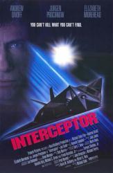 Interceptor movie poster [Jurgen Prochnow] 27x40 video poster