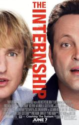 The Internship movie poster [Owen Wilson & Vince Vaughn] 27 X 40