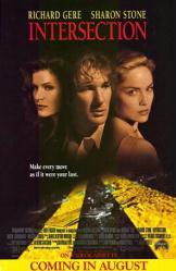 Intersection movie poster /Richard Gere/Sharon Stone/Lolita Davidovich