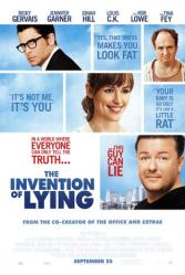 The Invention of Lying movie poster [Ricky Gervais, Jennifer Garner]