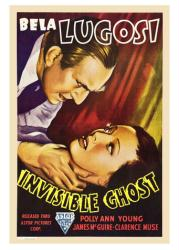 Invisible Ghost movie poster (1941) [Bela Lugosi] 18 X 24