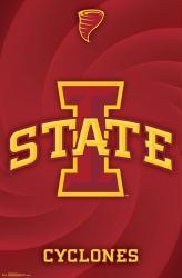 Iowa State Cyclones poster: Logo (NCAA) 22x34