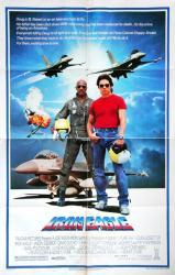 Iron Eagle movie poster [Louis Gossett Jr., Jason Gedrick] 27x41