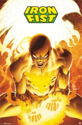 Iron Fist poster: Marvel Comics superhero (22x34)
