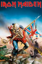 Iron Maiden poster: The Trooper (Eddie) 24x36