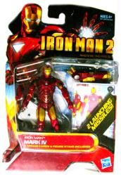 Iron Man 2: Iron Man Mark IV action figure (Hasbro/2009)