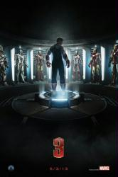 Iron Man 3 movie poster [Robert Downey Jr.] 24'' X 36'' advance