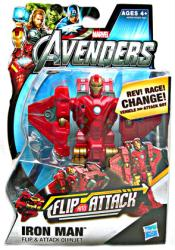 The Avengers: Flip and Attack Iron Man action figure (Hasbro/2012)
