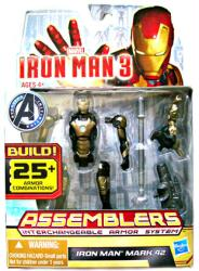 Iron Man 3 [Assemblers] Iron Man Mark 42 action figure (Hasbro/2012)