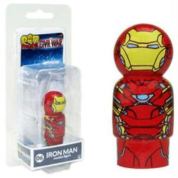 Captain America Civil War: Iron Man Pin Mate #06 wooden figure