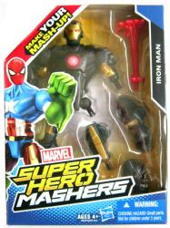 Marvel Super Hero Mashers: Iron Man action figure (Hasbro/2013)