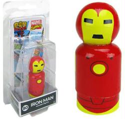 Marvel Comics: Iron Man Pin Mate #80 wooden figure (Bif Bang Pow)