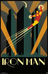 Iron Man poster: Art Deco (22x34) Marvel Comics