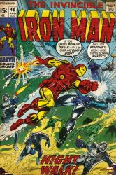 The Invincible Iron Man poster: Issue 40 cover (24x36) Marvel Comics