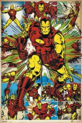 Iron Man poster: Collage (24x36) Marvel Comics