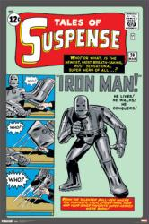Iron Man poster: Tales of Suspense Issue 39 cover (24 X 36) Marvel