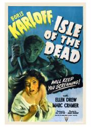 Isle of the Dead movie poster [Boris Karloff & Ellen Drew] 18 X 24