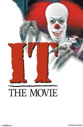 It: The Movie poster (22x34) [Tim Curry] Stephen King 1990 TV version