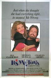 It's My Turn movie poster [Jill Clayburgh & Michael Douglas] 1980