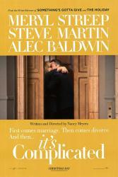 It's Complicated movie poster [Meryl Streep & Alec Baldwin] Advance