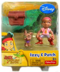 Jake and the Never Land Pirates: Izzy & Patch figures (Disney Junior)