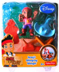 Jake and the Never Land Pirates: Izzy's Stingray Slinger figure set