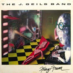 The J. Geils Band poster: Freeze Frame vintage LP/Album flat