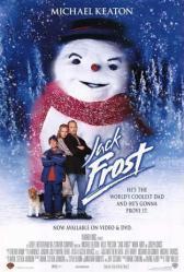 Jack Frost movie poster (1998) [Michael Keaton/Kelly Preston] VG 27x40